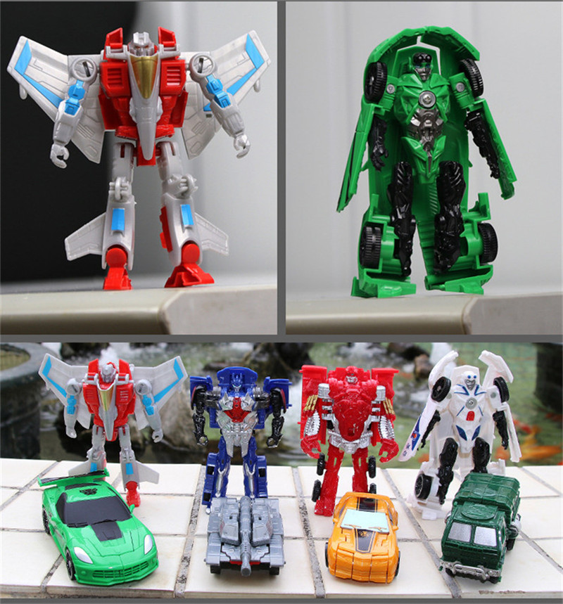 Figures Kids Transformation Robot Mini Doll Action-Toy Plastic Hot-Quality Arrival 11cm