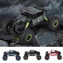 2,4 ГГц RC 1:18 четыре колеса гусеничный автомобиль RC автомобиль бездорожью дистанционного Управление игрушка мини RC модели грузовой автомобиль игрушки для мальчиков