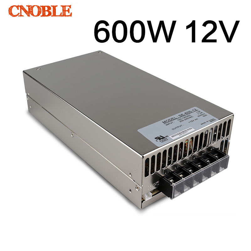 LED Switch Power Supply 600w 12v 50a ac-dc 220v 12v Switching Transformer LED Driver 12v 220v Factory Direct meanwell 12v 350w ul certificated nes series switching power supply 85 264v ac to 12v dc