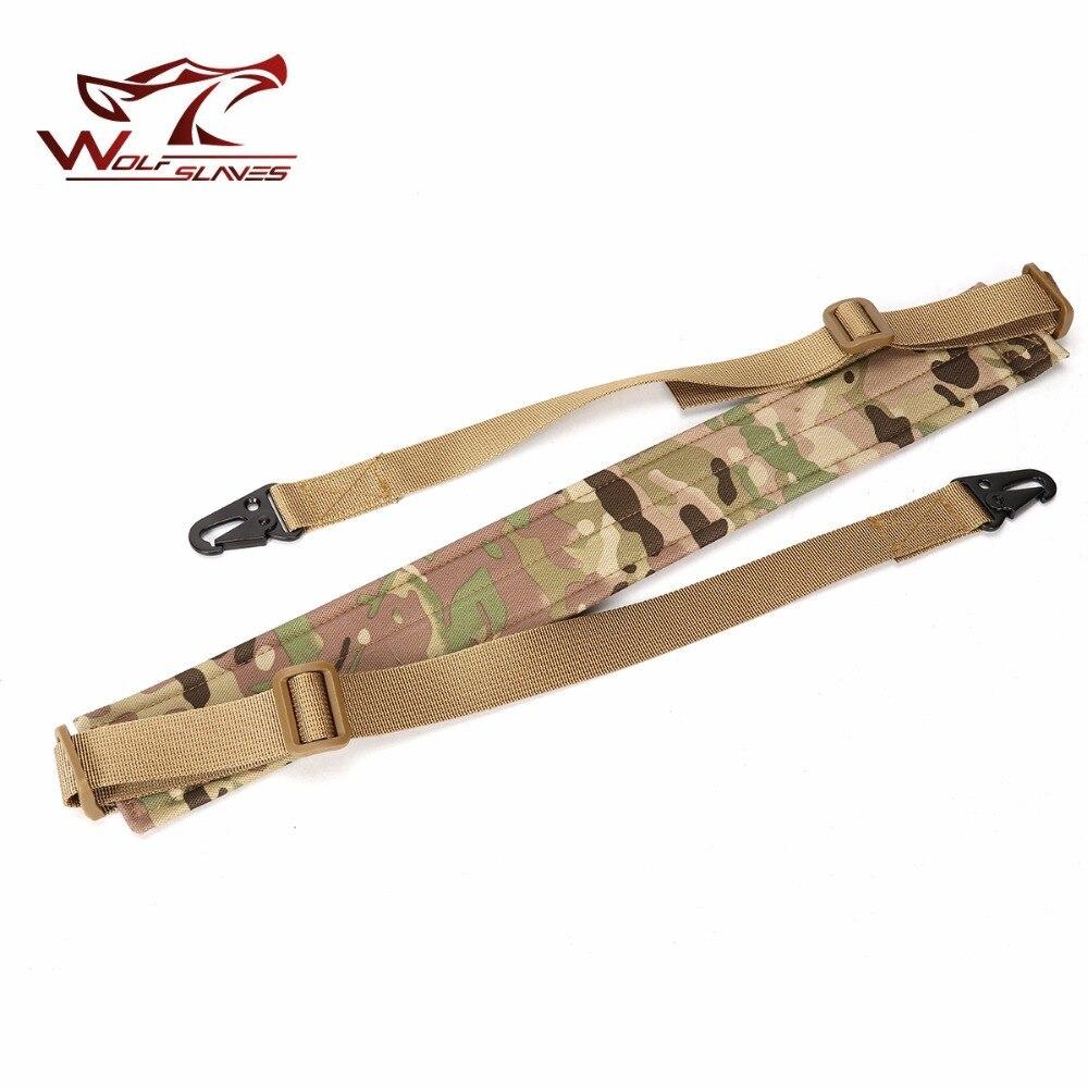 2 ремня для наплечной винтовки с металлической пряжкой