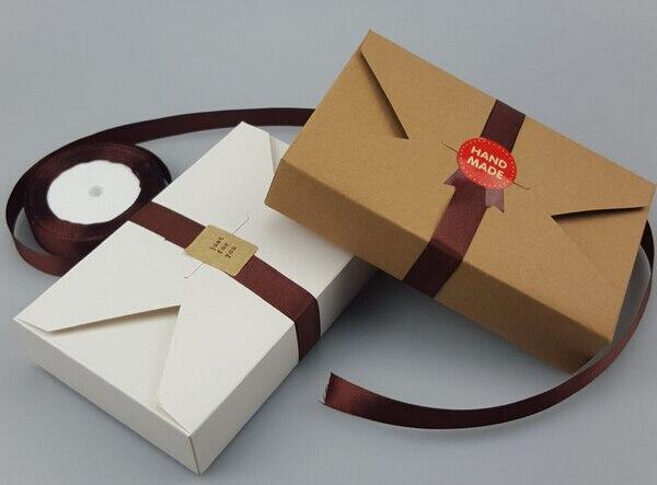 200pcs Wholesale Simple Envelope Christmas Cookies packaging Box ...