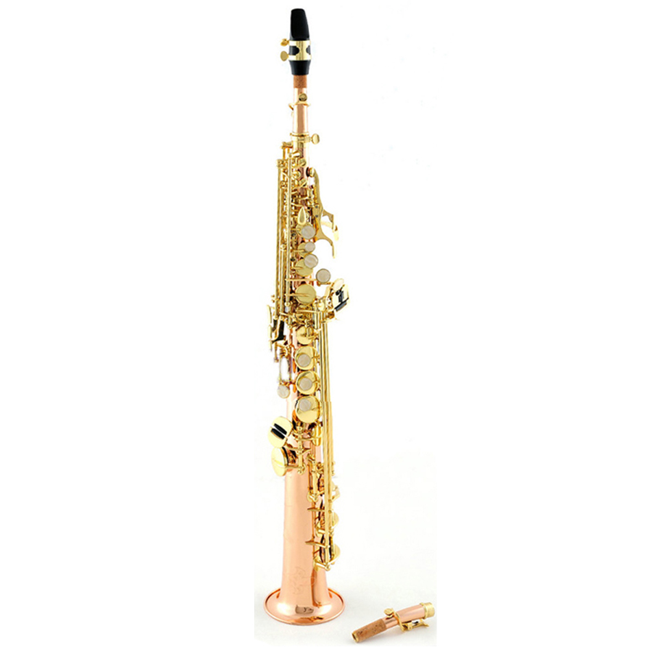 Straight Yanagisawa Soprano sax Japan S901 saxophone Instrument B flat Music phosphor bronze Soprano sax with case free shipping professional play h68 phosphor bronze copper bb saxphone falling tune b bakelite mouthpiece head sax straight saxophone in bb