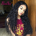 7A Brazilian Lace Front Human Hair Wigs Water Wave Virgin Hair For Black Women Glueless Full Lace Human Hair Wig With Baby Hair