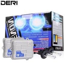H3 ксеноновая лампа комплект для автомобилей 12 В 55 Вт Q5 AC балласты Hid преобразования Тонкий балласт Быстрый старт фар туман Light 4300 К 6000 К 8000 К