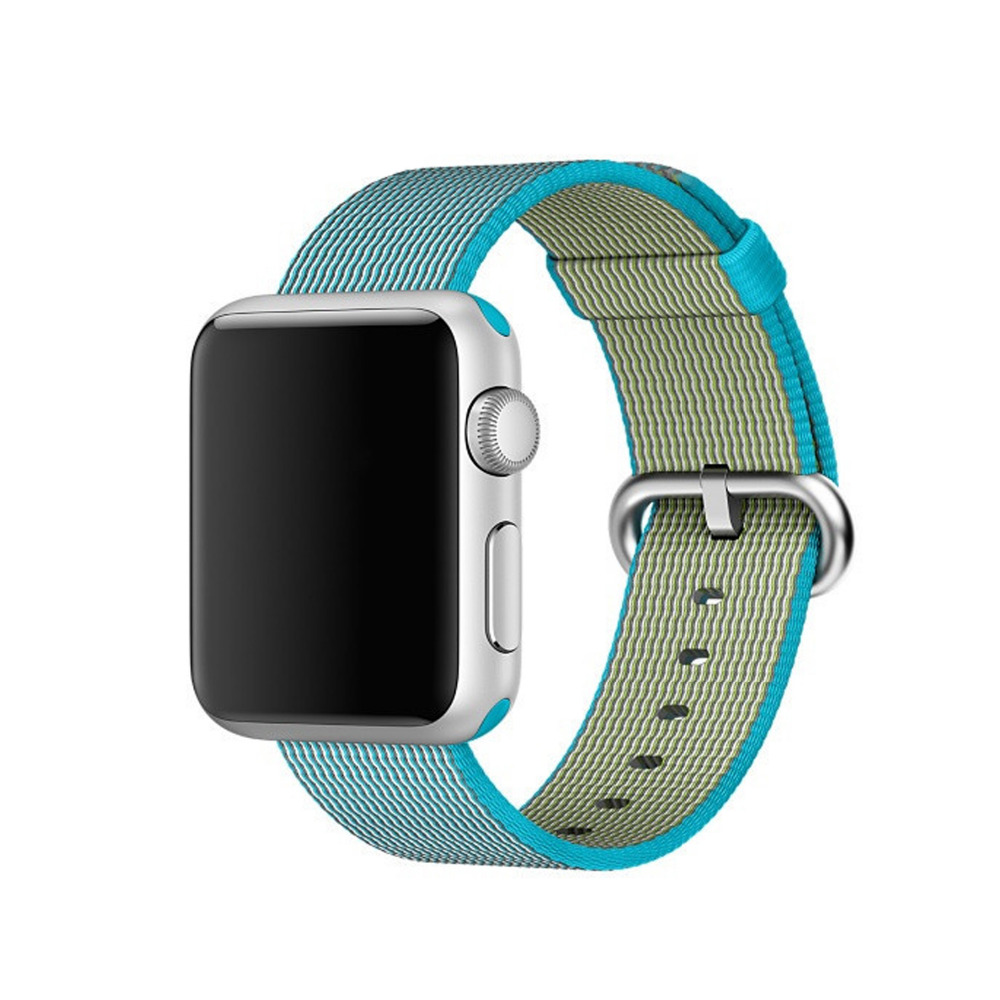 CRESTED Nylon strap for apple watch band 42mm 38mm sport wrist bracelet & fabric like woven nylon watchband for iwatch 1/2/3