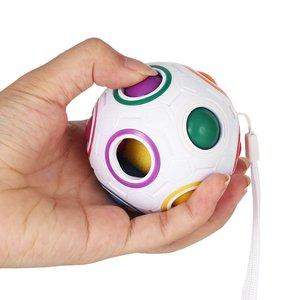 Image 3 - קסם כדור קשת כדורי קסם קוביית כדור נגד לחץ קשת חידות כדורי צעצועים חינוכיים לילדים
