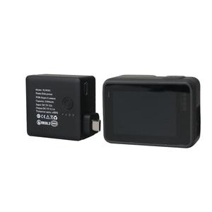 Image 4 - צד נייד חיצוני אספקת חשמל עם הגנת מסגרת שיכון לgopro Hero5/6/7 שחור סוג  C מצלמה אבזרים