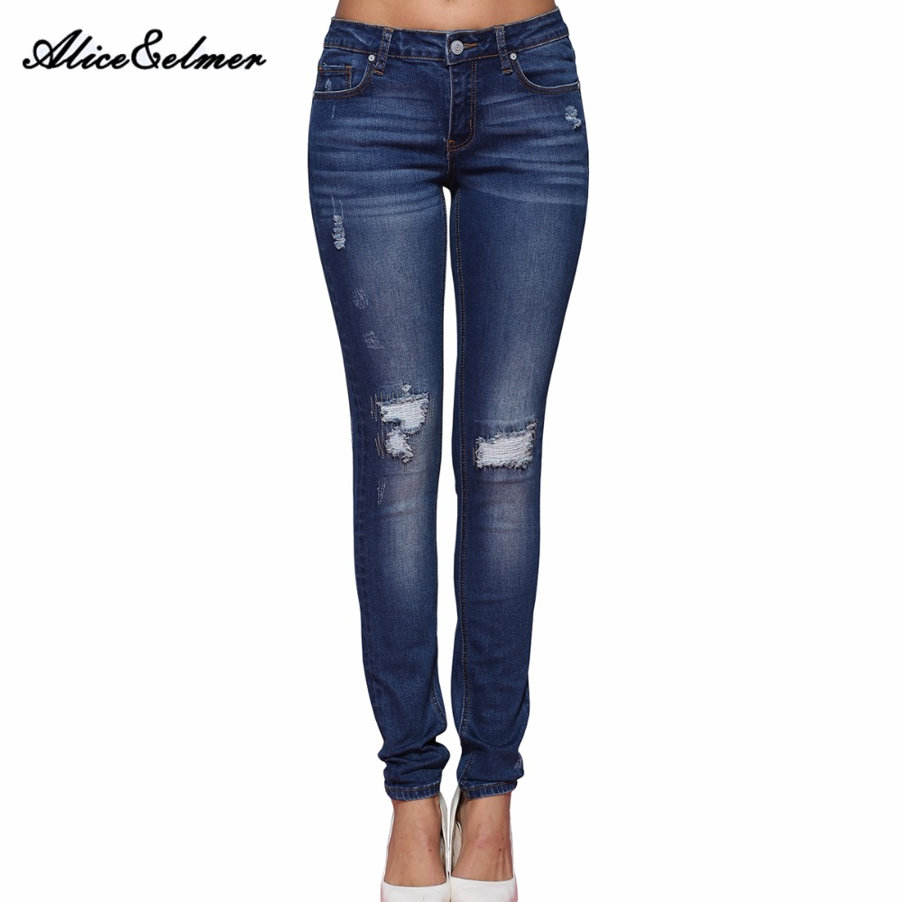 Online Buy Wholesale ripped jeans for women from China ripped ...