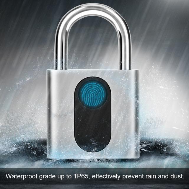 Smart Waterproof Fingerprint Lock