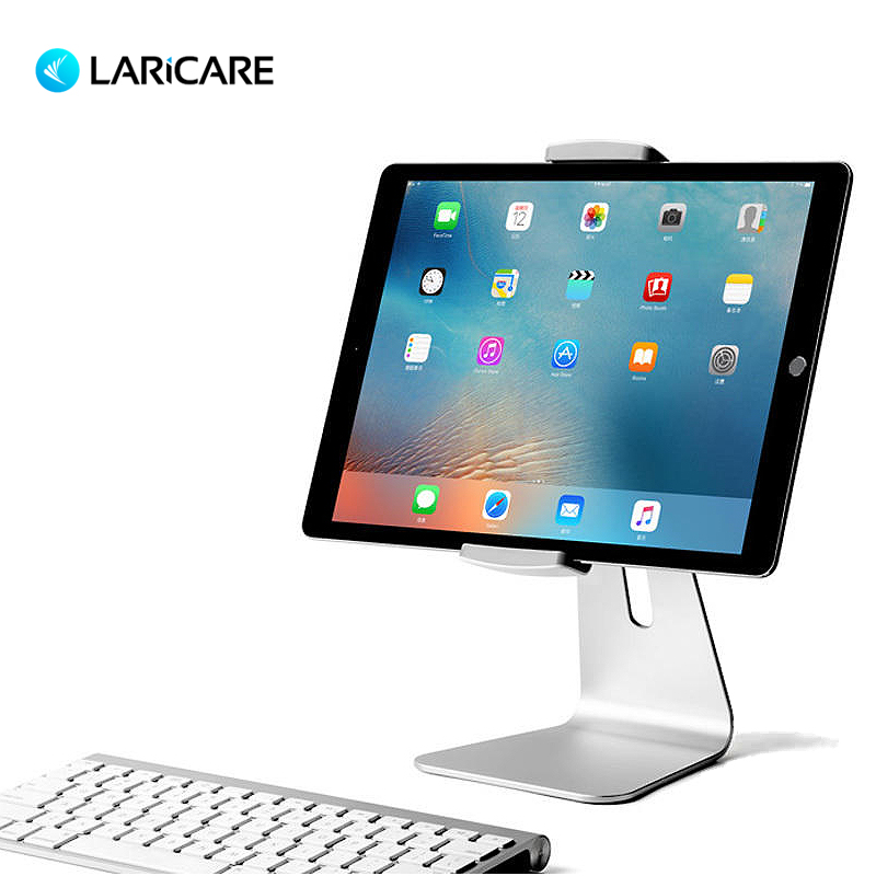 Laricare AP 7S Aluminum Tablet Stand for Tablet With Clamp for 7 Inches to 13 inches