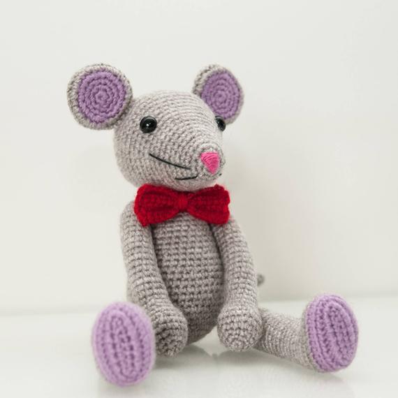 Crochet jouets souris amigurumi numéro de modèle 96