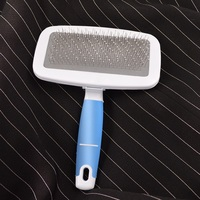 Multi purpose Needle Comb for Dog Cat Comb Brush Dog Hair Promote Blood Circulation Pet Grooming Dog Hair Brush Pet Grooming