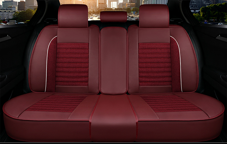 3The Bottom Of Seats Seat Back And Rear Are Whole Surrounded It Comprehensively Protects Your Car From Damage The Overall Effect Is Stylish