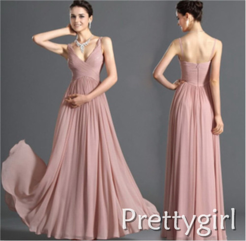 Popular Baby Pink Chiffon Maxi Dress-Buy Cheap Baby Pink Chiffon ...