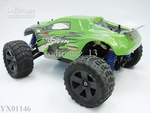 free shipping 1:16 Scale RC gas truck 4WD nitro gas RC car Radio Remote Control model car toys
