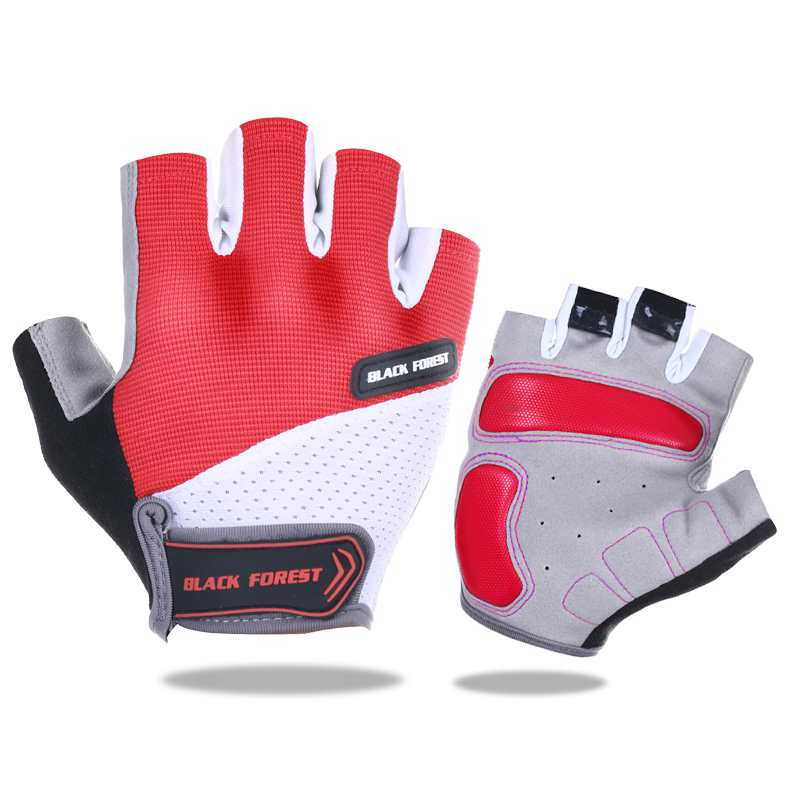Cycling Gloves Summer Bicycle Outdoor Sports Half Finger Breathable Gloves Shock MTB Gloves Men Women Road Motocross Gloves
