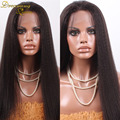 7a Full Lace Human Hair Wigs Virgin Peruvian Hair kinky Straight Lace Front Wigs Human Hair Lace Wigs For Black Women