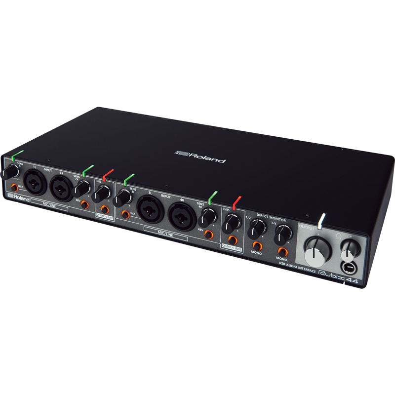 new roland rubix44 professional recording sound card usb audio interface 4 in 4 out for mac pc. Black Bedroom Furniture Sets. Home Design Ideas