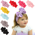 2016 Baby Hairband Kids Girls Hair Band Accessories Children Toddler Newborn Infant bows Turban Knot Headband
