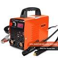 Дуговой сварщик DC инвертор дуговой сварщик 220 В сварочный аппарат 200Amp для дома Начинающий легкий эффективный