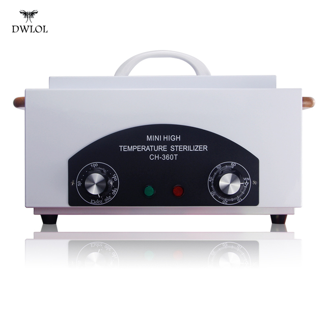 High Temperature Uv Sterilizer Box Professional Nail Art Salon Portable Sterilizing Tool Equipment For