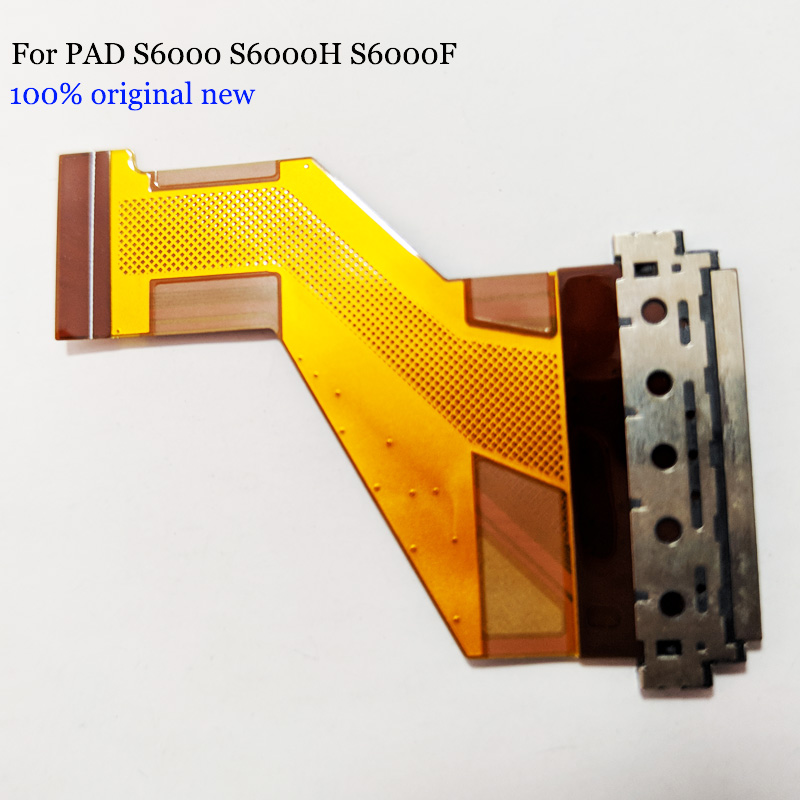 New For Lenovo Le PAD S6000 LCM FPC 100% original for Lenovo PAD S6000 S6000H S6000F LCD Flex Cable FPC free shipping