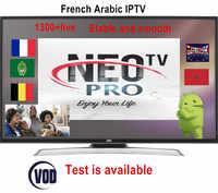 Französisch IPTV Neotv pro 1300 + kanäle Europa Arabisch Belgien IPTV abonnement code liveTV IP TV M3U android enigma2 smart TV