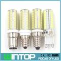 New E12/E14/B15G9 LED Bulb Lamp 220V 5W 64Pcs SMD2835 Spotlight Led Corn Light Chandelier Pendant Lights Replace Halogen Lamp
