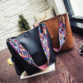 Brand 2016 New Fashion Women Shoulder Bags Designer Handbags For Women Black PU Leather Bags Ladies Messenger Bags crossbody bag