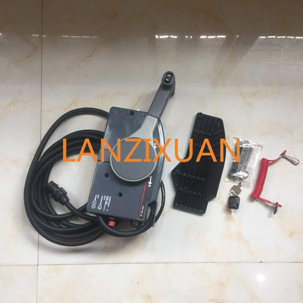 703-48207-1A-10-11-Remote-Control-Box-10P-For-Yamaha-Outboard-Motors-Steering-System-703