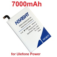 HSABAT 7000mAh Battery For Ulefone Power Batteries