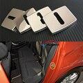 Fechadura da porta Fivela Tampa Cap Etiqueta Guarnição de Aço Inoxidável Especial 4 pcs Para BMW Série 1 F20 F30 F31 F21 3 Séries 2012-2016