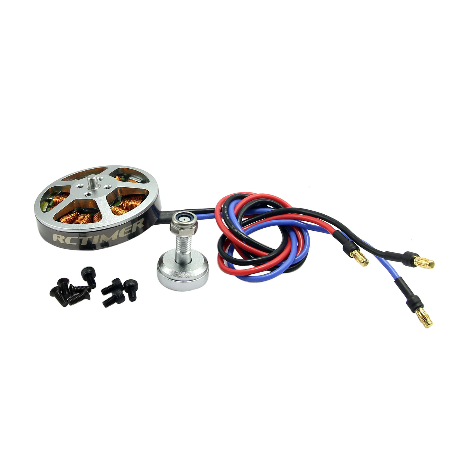RCtimer 5010 360KV/530KV/620KV Disc Professional <font><b>Brushless</b></font> Motor for <font><b>FPV</b></font> <font><b>Drone</b></font> Quadcopter Multirotor image
