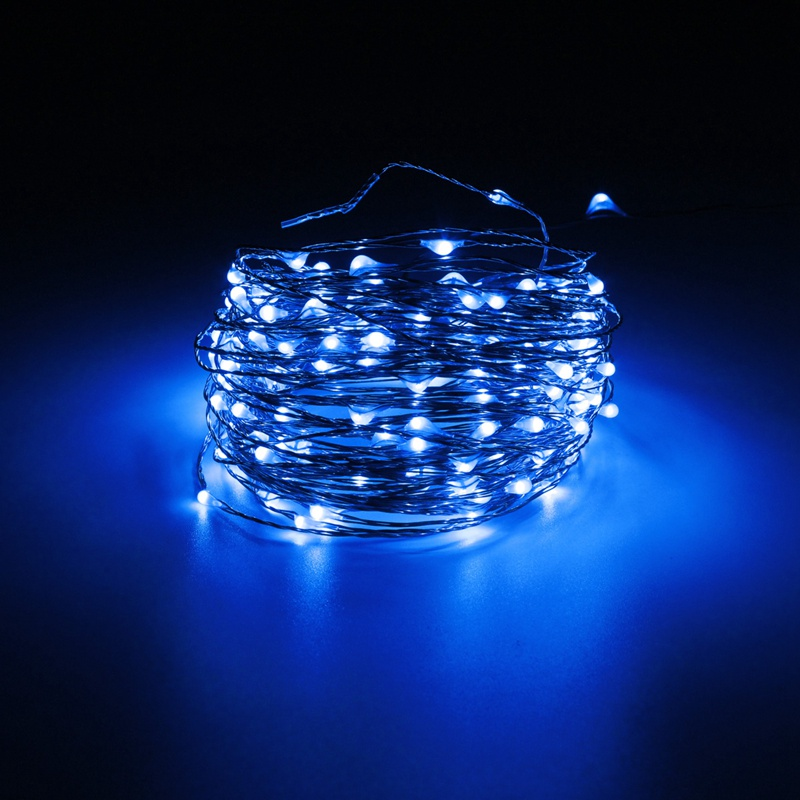 Waterproof 20M 200 LED String Light Christmas Wedding Copper Wire LED Fairy String Lights Lamp DC