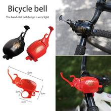 New Fashion Bicycle Bell Horn Hand Thumb USB Charging Bells Mini Alarm Warning Ring Bicycle Accessories s25 409 mini bicycle bell red