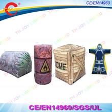 CS paintball obstacle game,inflatable oil barrel bunker,inflatable cube bunker,inflatable man bunker,inflatable dome bunker(China)