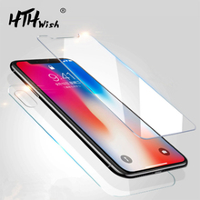 HD Tempered Glass For iphone X XS Max XR 6 6s 7 8 plus 5s 4s Screen Protector protective on Plus 5 glass
