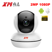 Full HD XM IP Camera WiFi 1080P 2MP ONVIF Mini Security Camera Wireless 140 Wide Angle