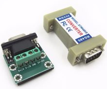 RS232 to RS485 converter rs232 rs485 Adapter rs 232 485 female female rs 232 rs 485(China)