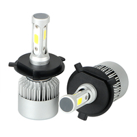 1 Pair Car Modification High Power H4 HB2 9003 Headlight Bulbs DC9 32V IP65 LED Car