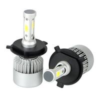 1 Pair Car Modification High Power H4 HB2 9003 Headlight Bulbs DC9 32V IP65 LED Car