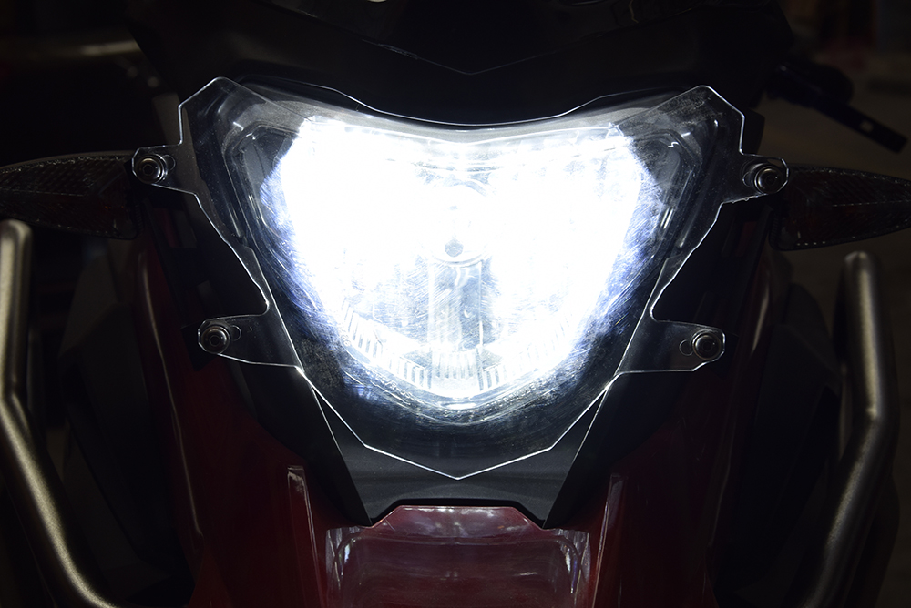 bike GP Headlight protection cover For BMW G310GS 2017 ON transparent Cover Protector PC injection molding