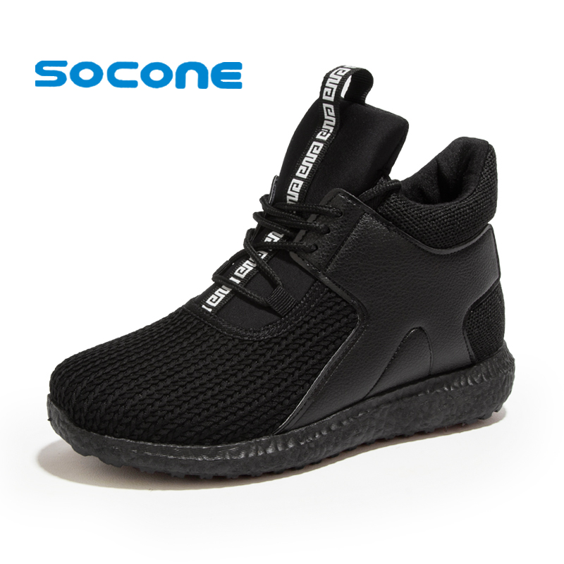 Socone New Running Shoes For Women Ladies Outdoor Walking Shoes Lace-up Training Sneakers Super Lightweight zapatillas mujer adidas women s shoes running shoes training shoes sneakers free shipping
