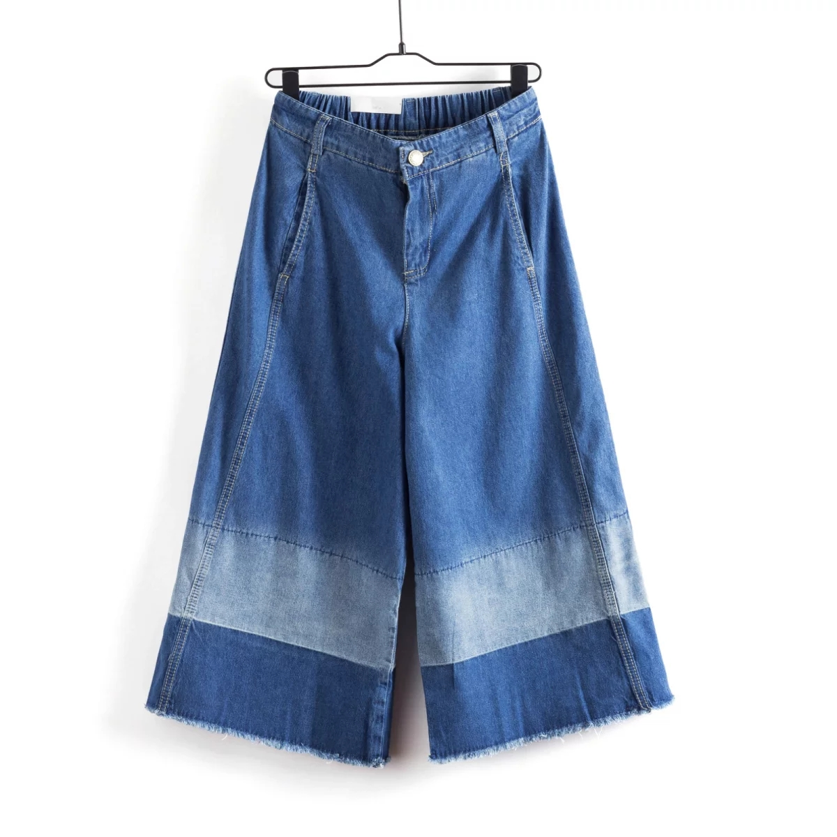 Compare Prices on Wide Leg Denim Capris- Online Shopping/Buy Low ...