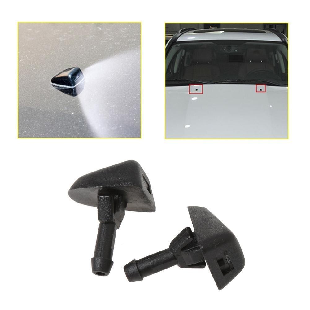 2 шт., запчасти для мытья ветрового стекла, автомобильный вентилятор, распылитель воды, насадка для мытья ветрового стекла для Volvo S40 S80 XC90 C70