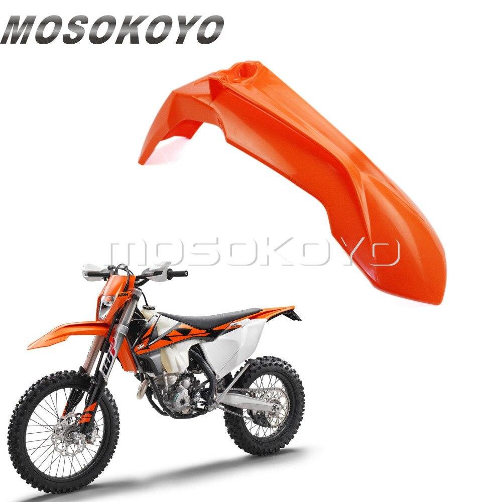 Orange Motocross Front Fender Mudguard For KTM XC EXC XC-W SX SXF XC-F 125 150 250 300 450 500 2013-2016 Enduro Dirt Bike