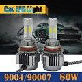 80 W 9004 9007 8000LM Bombilla LED 6000 K Blanco luz de Cruce de Alta Conversión de Coches Faro de la Energía Estupenda!