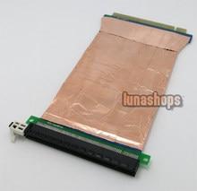 15cm Shield PCI-E PCIE to PCI-Express 16x Slot Riser Card Extender Cable For 1U/2U
