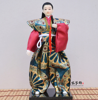 Unique Japanese Warrior Figurines with Katana Sword – Choice of 8