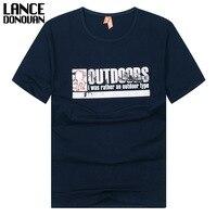 95 Cotton 5 Spandex High Quality Men S T Shirt T Shirt Men Fashion 2017 Summer